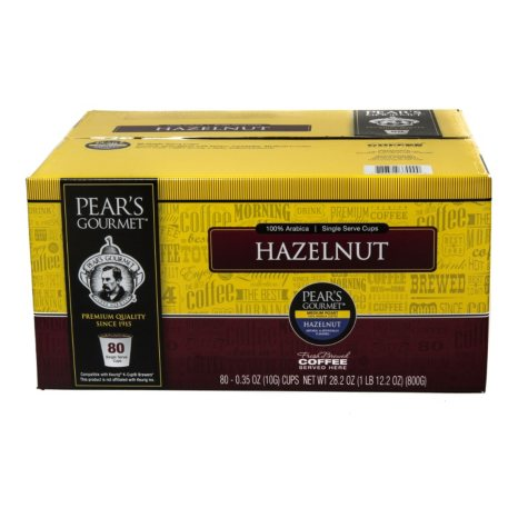 Pear's Gourmet Flavored Coffee, Single Serve (80 ct.)