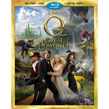Oz: The Great And Powerful (Blu-ray + DVD + Digital Copy) (Widescreen)
