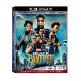 Black Panther (4k + Blu-ray + Digital)