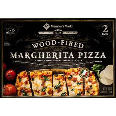 Members Mark 10 X 15 Inch Wood Fired Margherita Pizza 2