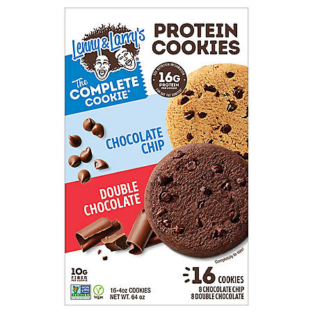 The Complete Cookie Combo Box, Chocolate Chip and Double Chocolate (4 oz. each,16 ct.)