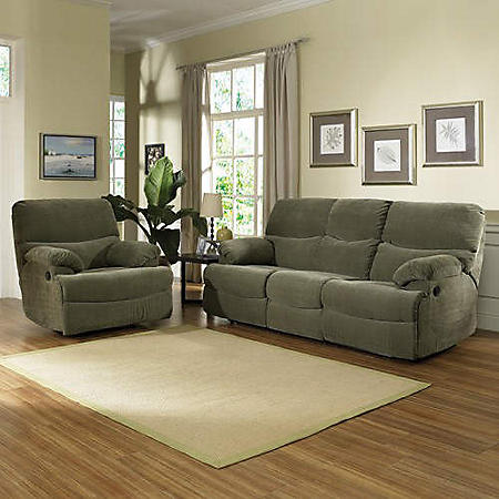 Stratus Living Room Reclining Group - 2 pc.