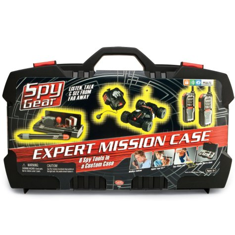 Spy Gear Expert Mission Case""