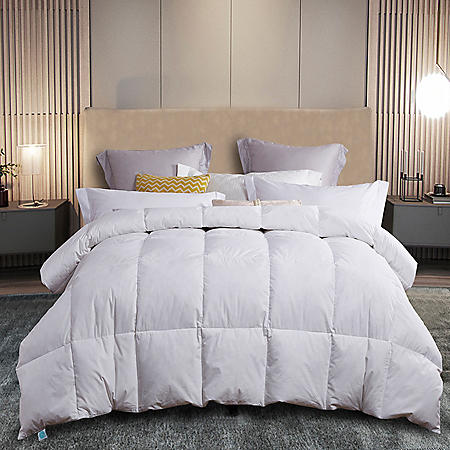 Martha Stewart 240 Thread Count White Feather and Down Comforter (Various Sizes)