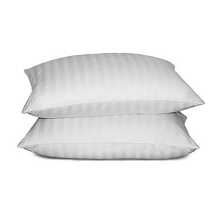 Siberian 500-Thread-Count White Down Pillow