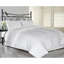 ELLE Home Eco Unbleached Cotton Feather/Down Comforter