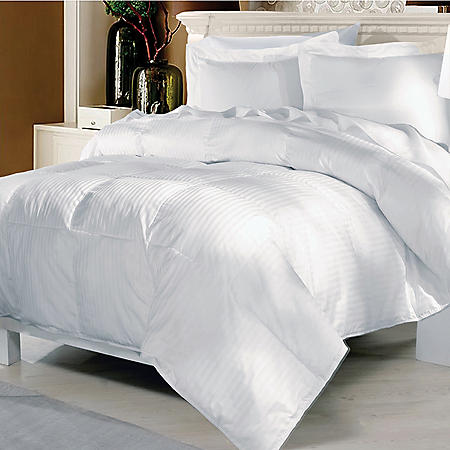 ELLE Home 500-Thread-Count European White Goose Down Comforter (Assorted Sizes)
