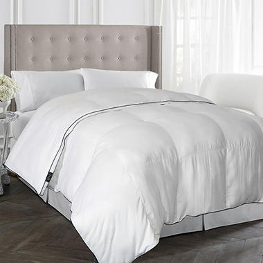 elle home pinstripe down alternative comforter