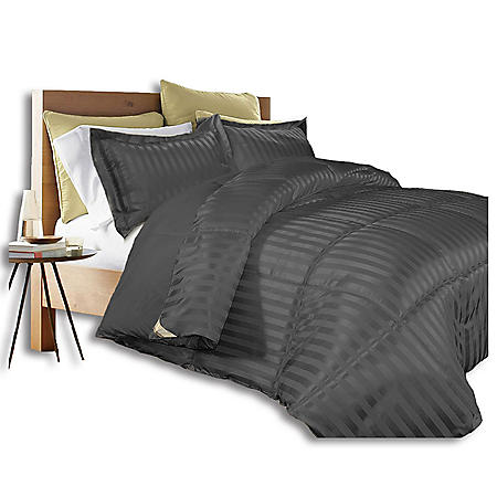 Kathy Ireland Home Damask Stripe Comforter Set