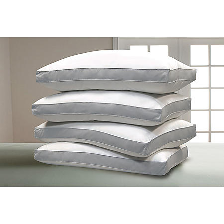 1000-Thread-Count Pima Cotton Pillows, Jumbo (4-pack)