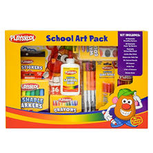 Playskool School Art Pack, 112 Piece Set