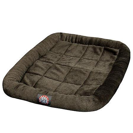"""Majestic Pet Crate Pet Bed Mat 48"""", Charcoal"""