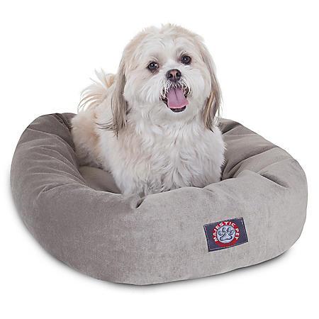 "Majestic Pet Velvet Bagel Pet Bed, 24"" (Choose Your Color)"