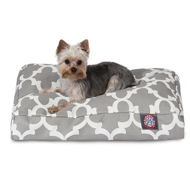 Majestic Pets Trellis Rectangle Pet Bed (Choose Size & Color)