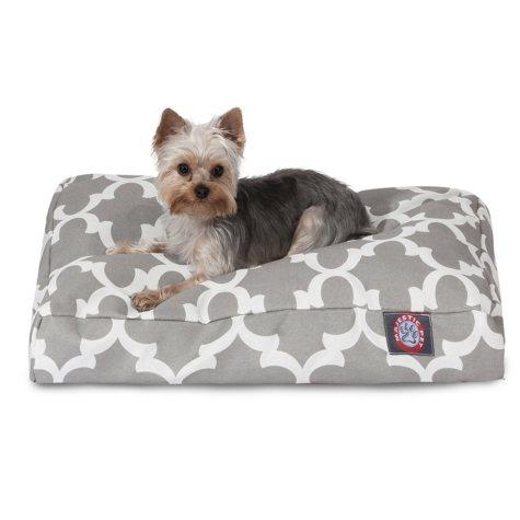 Majestic Pets Trellis Rectangle Pet Bed (Choose Size & Color)