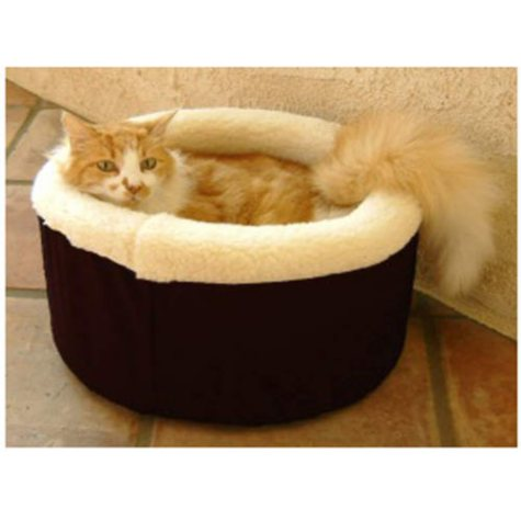 Cat Cuddler Pet Bed - Black