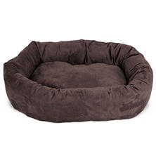"Majestic Pet Suede Bagel Pet Bed, 32"" (Choose Your Color)"