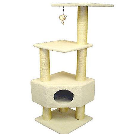 """Bungalow Cat Condo - 52""""H"""