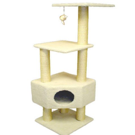 "Bungalow Cat Condo - 52""H"
