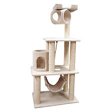 Majestic Pet Bungalow Cat Tree - 62""