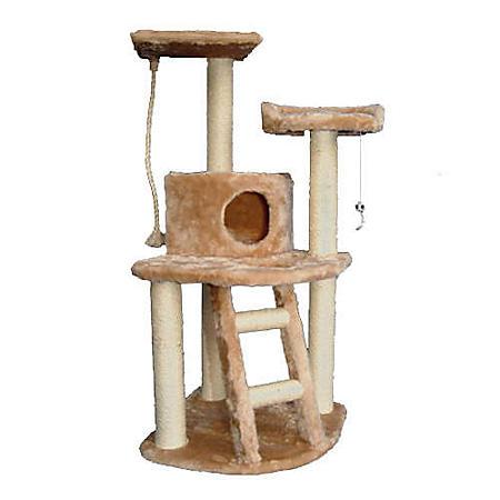"""Majestic Pet Casita Cat Condo - 48""""H"""