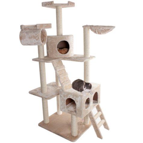 """Casita Cat Condo - 73""""H"""