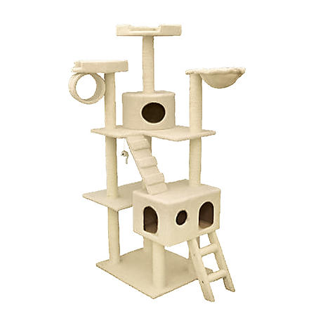 "Bungalow Cat Condo (73""H)"
