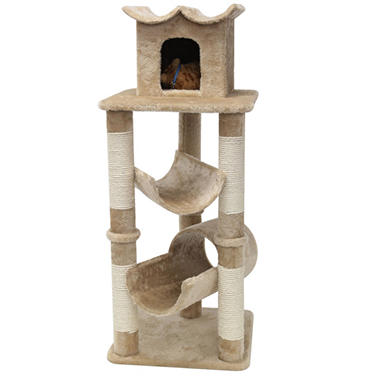 Majestic Pet Bungalow Cat Tree - 47