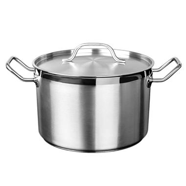 Stainless Steel Stock Pot With Lid Various Sizes