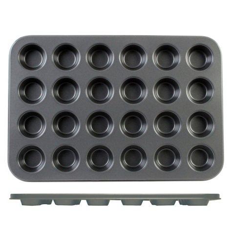 Nonstick Mini Muffin Pan - 24 Small Cups