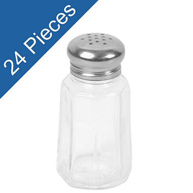 Paneled Spice Shakers - 1.25 oz. - 24 pk.
