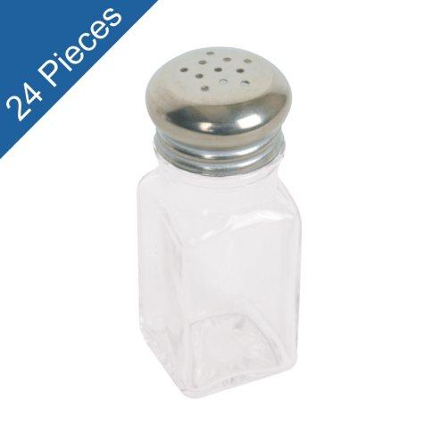 Mushroom Cap Square Shakers - 2 oz. - 24 pk.