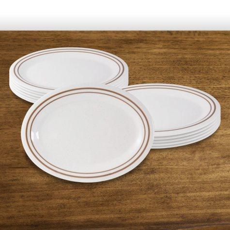 """Winston Melamine Oval Platter - 9"""" (12 pk.)"""