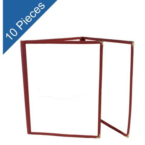 Menu Folder - 3 Pages w/ 6 Views - 10 pk.