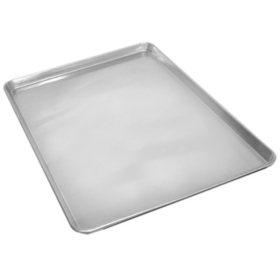"""Half Size Aluminum Sheet Pan - 18"""" x 13"""""""