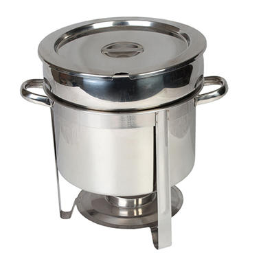 Stainless Steel Marmite Chafer - 11 qt.