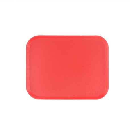 """14"""" x 17 3/4"""" Fast Food Tray - Red (12 pk.)"""