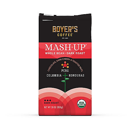 Mash-Up Organic Whole Bean Coffee, Dark Roast (30 oz.)