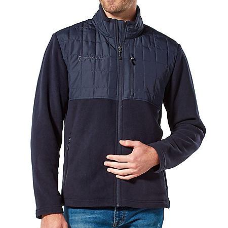 Men's Free Country Full Zip Fleece Jacket