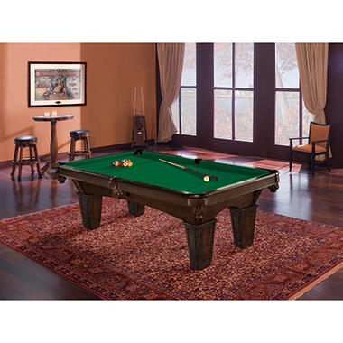 Brunswick glen oaks 8 foot billiard table select cloth - 8 foot pool table dimensions ...