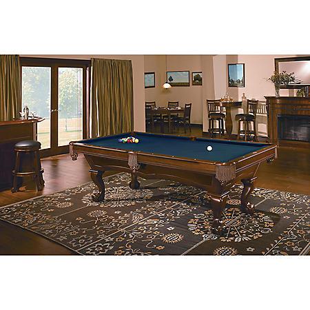 Brunswick Broadmoor 8-Foot Billiard Table (Select Cloth)
