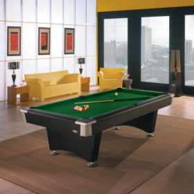 Brunswick Boca 8-Foot Billiard Table (Select Cloth)