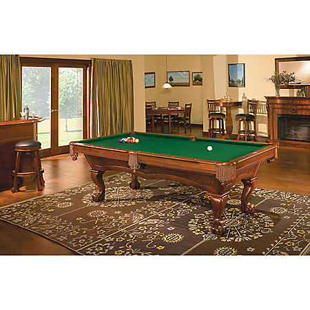 Brunswick Danbury 8-Foot Billiard Table (Select Cloth)