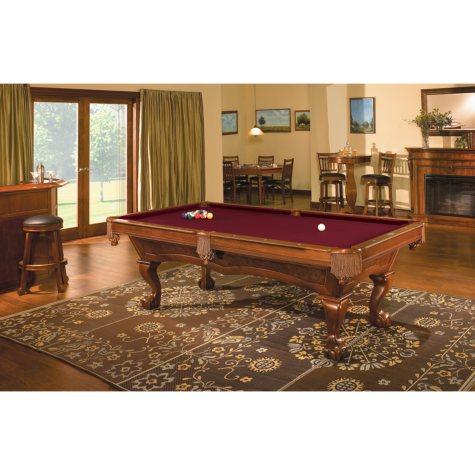Brunswick Danbury 8-Foot Billiard Table (Select Cloth)
