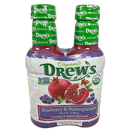 Organic Blueberry and Pomegranate with Chia Dressing (40 fl. oz., 2 pk.)