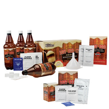 Mr. RootBeer Kit and Refill Bundle Pack