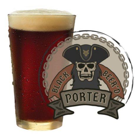 Mr. Beer Black Beer'd Porter Craft Beer Brewers Recipe Kit