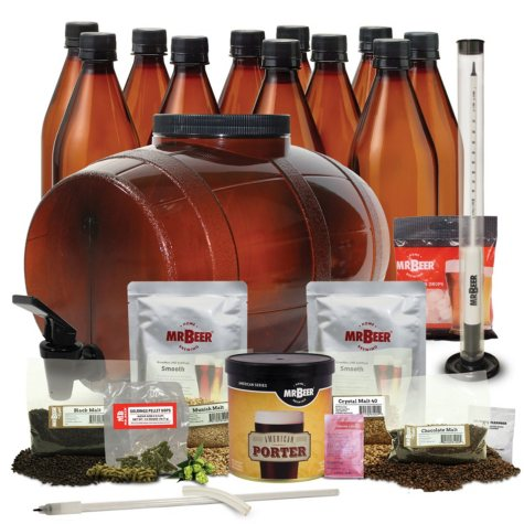 Mr. Beer Craft Beer Making Bonus Kit (Assorted Flavors)