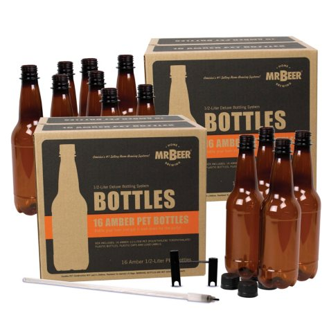 Mr. Beer Deluxe Bottling System 2-Pack (32 Bottles)
