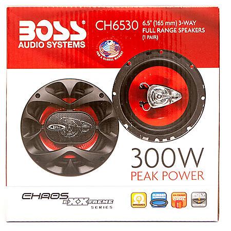 "Boss Audio Chaos Exxtreme 6.5"" 3-way 300-watt Auto Coaxial Speaker"